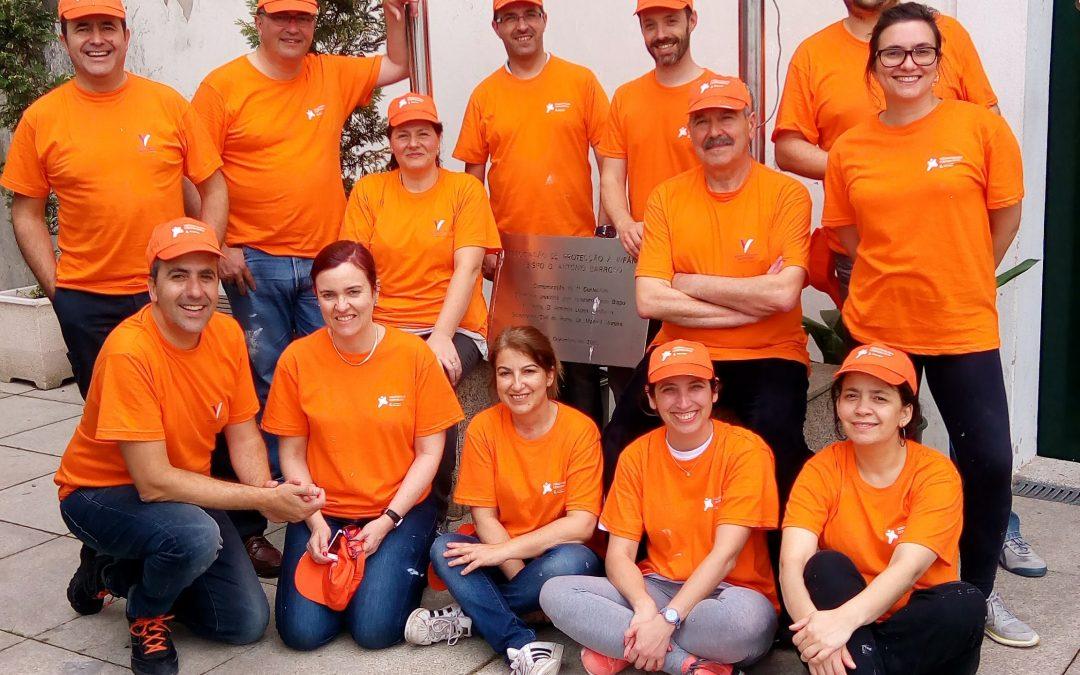 Agradecimento aos Voluntários do Grupo Montepio
