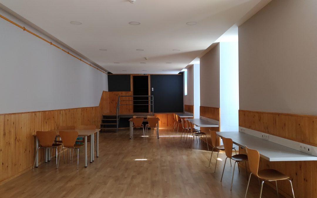 Reconversão e remodelação do espaço de estudo e lazer