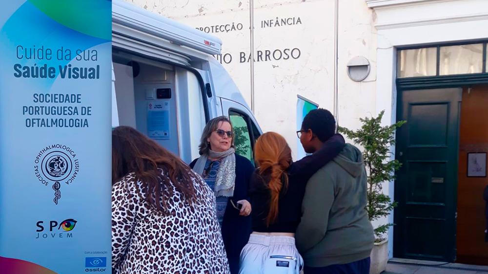 Projeto Vision for Life fez rastreio oftalmológico na APIBAB